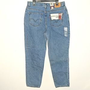 Levi's 550 Classic Relaxed Tapered Leg Jeans 16